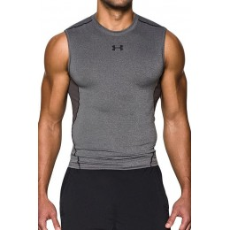 UNDER ARMOUR HG ARMOUR SL T-SHIRT ΑΜΑΝΙΚΟ 1257469-090