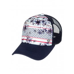 ROXY WATER CAME DOWN TRUCKER CAP ERJHA03399-BEK7