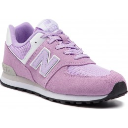 NEW BALANCE 574 GRADE W SHOES GC574EM-EM PINK/PURPLE