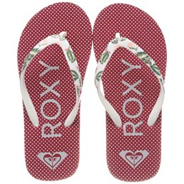 ROXY RG PEBBLES VI KIDS SANDALS ARGL100182-RAS RED/WHITE