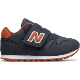 NEW BALANCE 373 CLASSIC INFANT SHOES IV373FA-FA NAVY/ORANGE