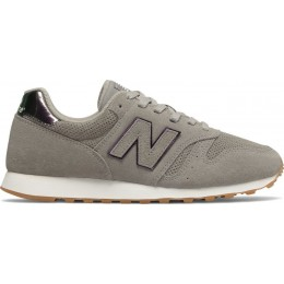 NEW BALANCE 373 CLASSIC W SHOES WL373WNF-WNF LIGHT GREY/PURPLE