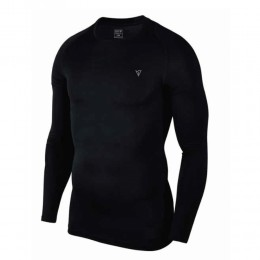 MAGNETIC NORTH KID'S COMPRESSION TOP L/S 19100-00 BLACK