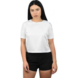 MAGNETIC NORTH WOMEN'S SHORT SLEEVE TOP WHITE 20047-05