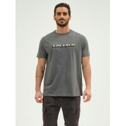 EMERSON T-SHIRT MEN'S S/S 211.EM33.14 ARMY GREEN