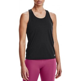 UNDER ARMOUR ΜΠΛΟΥΖΑ FLY BY TANK 1361394-001 BLACK